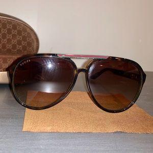 Authentic Gucci Aviator Sunglasses